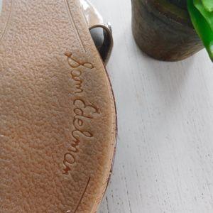 Sam Edelman Shoes - SAM EDLEMAN ~ Sz 8.5 Nude Patent Cork TANYA Sandal